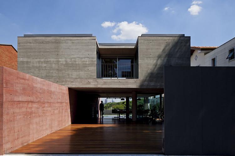 Casa Boaçava / Una Arquitetos. Image © Leonardo Finotti