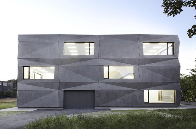 Textilmacher / tillicharchitektur. Image © Michael Compensis