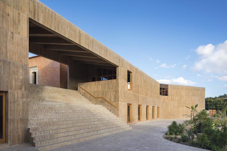 Centro Cultural Comunitário Teotitlán del Valle / PRODUCTORA. Image © Luis Gallardo - LGM Studio