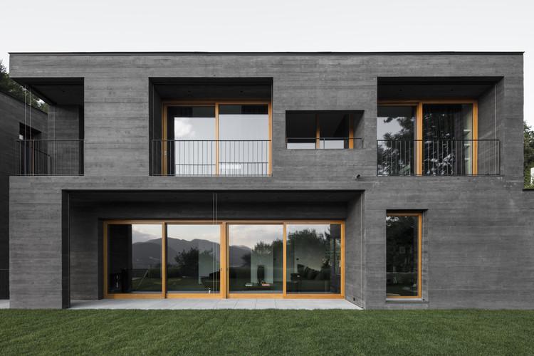 Residência Montagnola / Attilio Panzeri & Partners. Image © Giorgio Marafioti