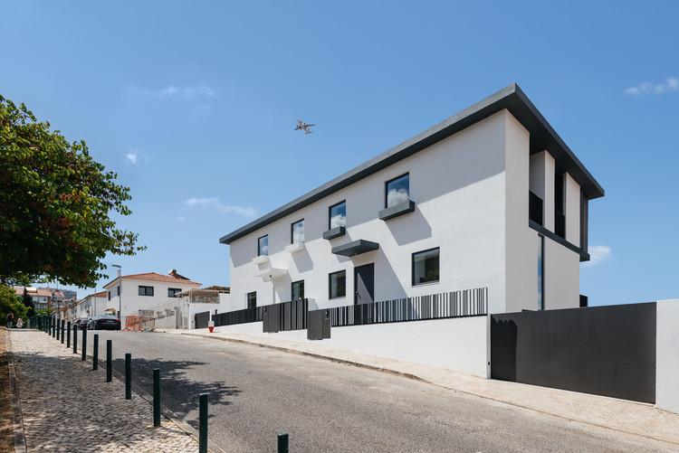 Duas casas na Calçada dos Mestres / Orgânica Arquitectura, © Do Mal o Menos