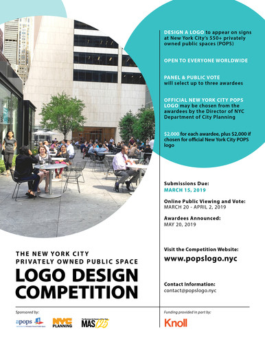 The New York City Privately Owned Public Space Logo Design Competition Archdaily