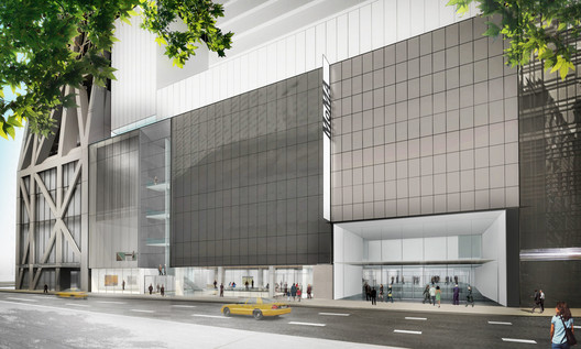 Exterior view of The Museum of Modern Art on 53rd Street . Image © Diller Scofidio + Renfro
