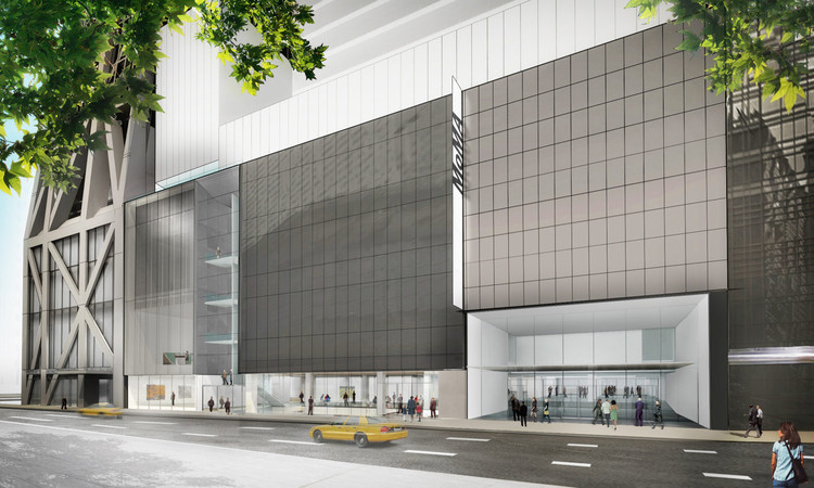 MoMA divulga data de abertura e novas imagens da expansão de Diller Scofidio + Renfro, Vista exterior do museu de arte moderna na 53rd Street. Imagem © Diller Scofidio + Renfro
