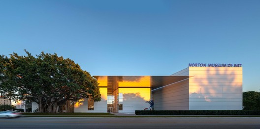 Norton Museum Expansion. Image © Nigel Young