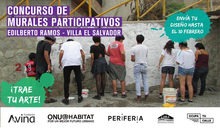 Concurso de murales participativos en Lima