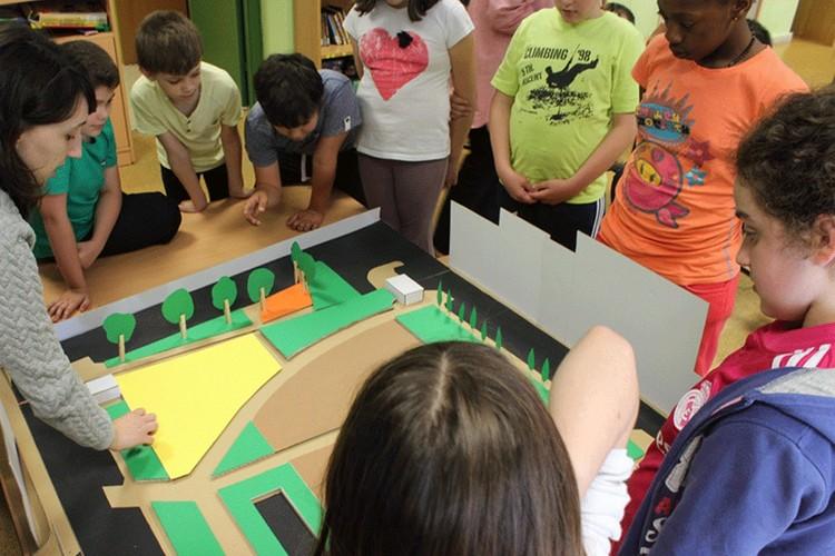 """CAU produzirá material sobre educação urbanística para escolas, Projeto """"Arquitetura para Crianças"""", realizado na Galícia, Espanha. Image Cortesia de CAU/BR"""