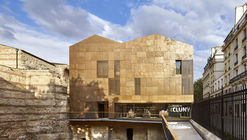 New Visitor Center of Cluny Museum / Bernard Desmoulin Architecte