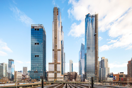 The Hudson Yards Development. Image © Mark Wickens