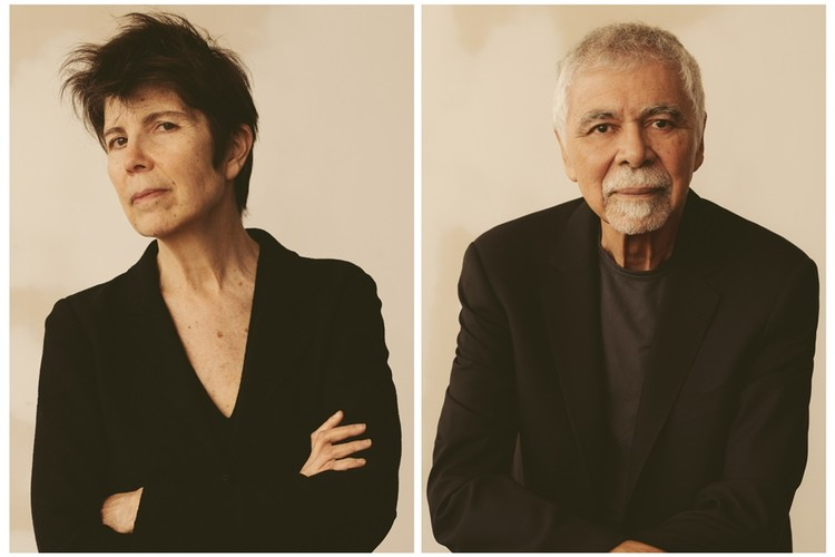 Diller Scofidio + Renfro, ganadores del Premio Royal Academy Architecture 2019, Liz Diller and Ricardo Scofidio; image via the Architects' Journal