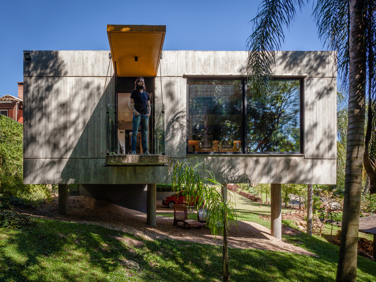 Sede Lineastudio Arquiteturas / Lineastudio Arquiteturas, © Cristiano Bauce