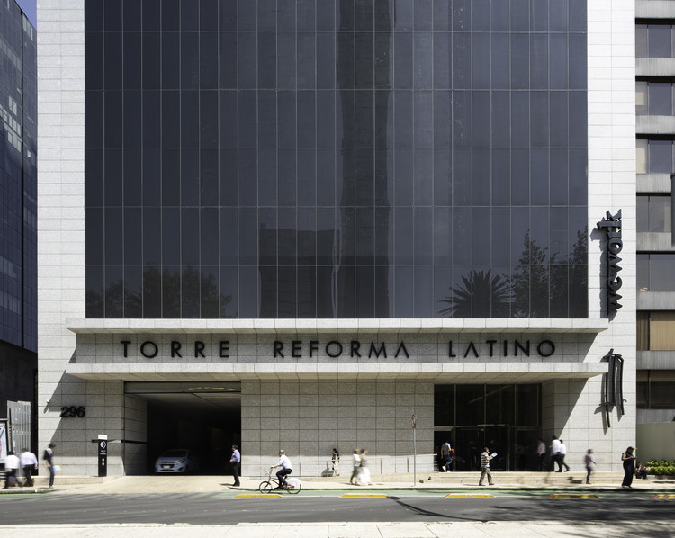 Reforma Latino Tower / Landa + Martínez Arquitectos, © The Raws