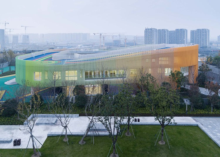 Yangliu County Community Primary School and Kindergarten / gad, © Yi Fan, Jinrong Huang