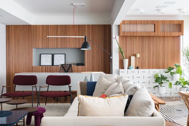 Apartamento Paulo Vieira / Todos Arquitetura, © Lufe Gomes