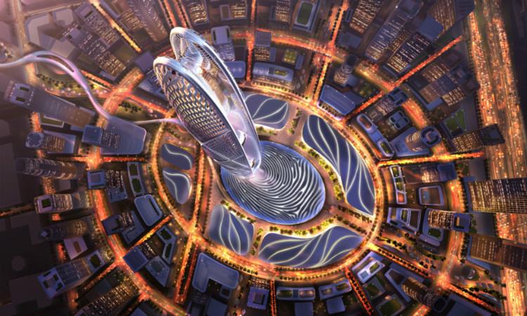 Dubai anuncia a construção de mais uma torre com mais de 500 metros de altura, © Dubai Holding