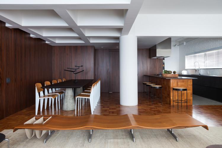 Apartamento Cincinato / Todos Arquitetura, © Lufe Gomes