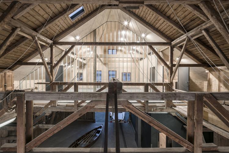 Boathouse / Buero Wagner, © Florian Holzherr