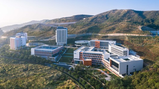 Campus aerial view. Image © Chao Zhang