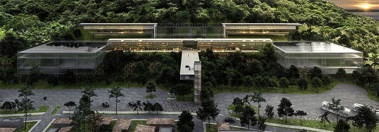 Inscrições abertas para o 12º Concurso CBCA para Estudantes de Arquitetura, Proposta premiada com o primeiro lugar na 11ª edição do concurso. Image Cortesia de CBCA