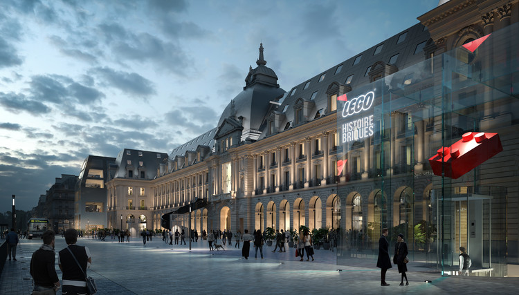 MVRDV to Transform Historic Palais du Commerce in Rennes, Shops. Image © ENGRAM