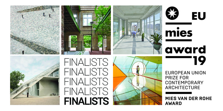 Estas son las 5 obras finalistas del EU Mies Award 2019, Courtesy of the EU Mies Prize