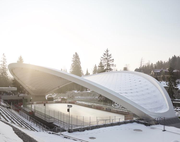 Schierker Feuerstein Arena / GRAFT, © Michael Moser