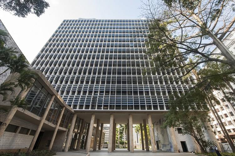 Restauração do Palácio Gustavo Capanema chega à última etapa, Palácio Gustavo Capanema, ícone do modernismo mundial. Foto: Oscar Liberal / Iphan
