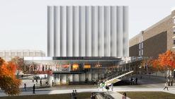 REX Reveals Brown Performing Arts Center Design