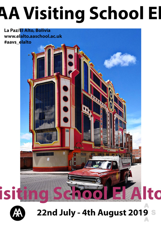 "Join the Architectural Association El Alto 2019, The ""Crucero del Sur"", one of the cholets which students will visit during the AAVS"