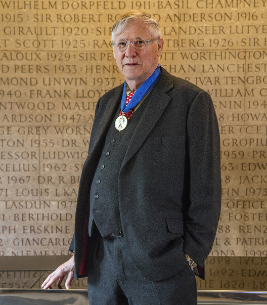 'The Things We Were Talking About, He Went and Did It': Sir Nicholas Grimshaw Awarded 2019 RIBA Gold Medal