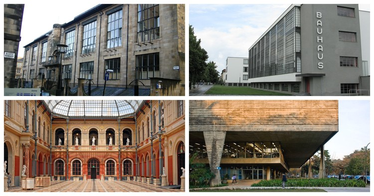6 Schools That Defined Their Own Architectural Styles Archdaily