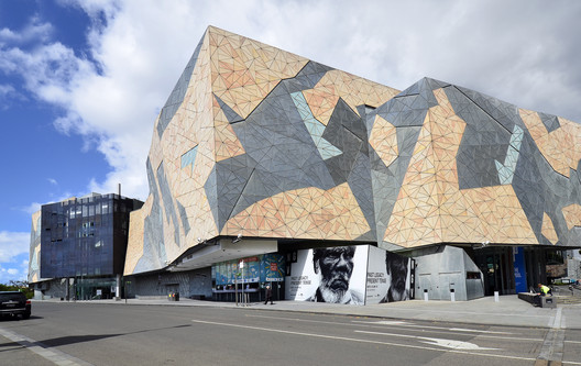 Federation Square, near the head office of SiteSupervisor, Melbourne Australia