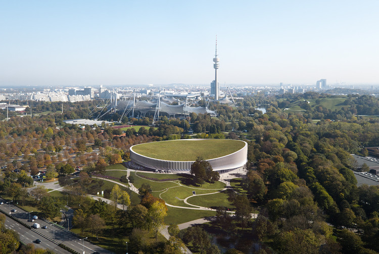 3XN Design a Respectful Stadium for Munich's Olympic Park, © 3XN