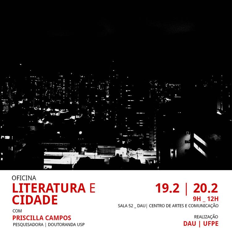 OFICINA   Literatura e Cidade, Divulgação