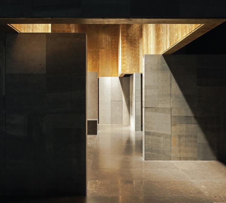 Vincent Van Duysen: The Way to a Modest Architecture, Carrières du Hainaut Stand. Image © Koen Van Damme