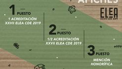 Concurso de Afiches: XXVII ELEA CDE 2019