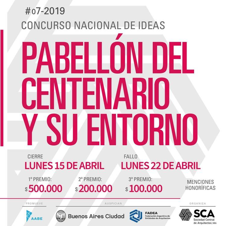 Concurso Nacional de Ideas Pabellón del Centenario y su entorno, Buenos Aires, Cortesía de Sociedad Central de Arquitectos