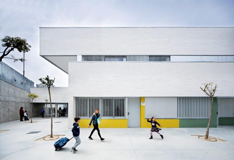 Colégio Público Indira Gandhi / Fresneda & Zamora Arquitectura, © Javier Callejas
