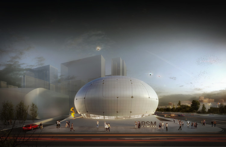 Museu da Ciência Robótica de Seul será construído por... robôs, © Melike Altınışık Architects