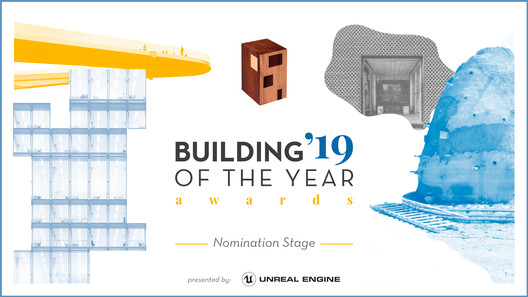ArchDaily's 2019 Building of the Year Awards are Now Open for Nominations