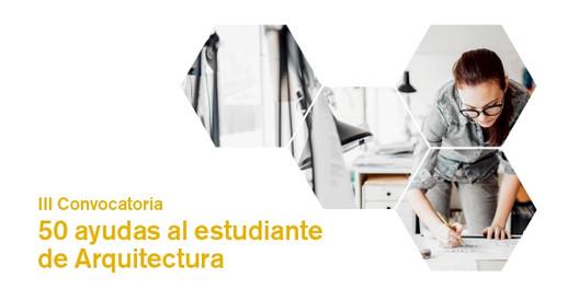 III Convocatoria de Ayudas Arquia Social para estudiantes de arquitectura en España, Cortesía de Fundación Arquia