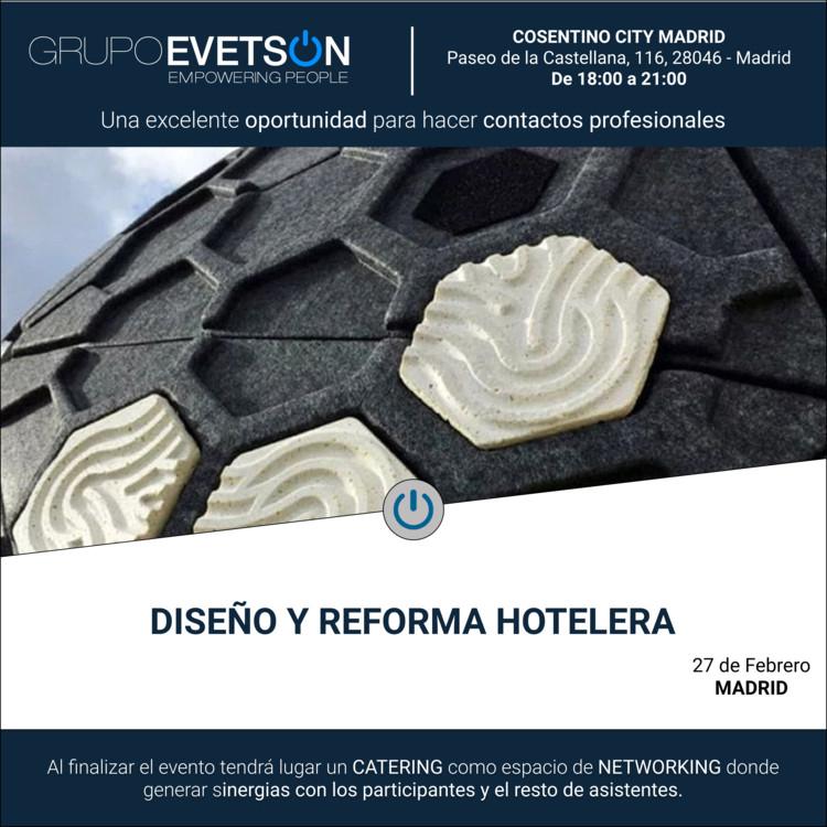 Encuentro 'Diseño y Reforma Hotelera'