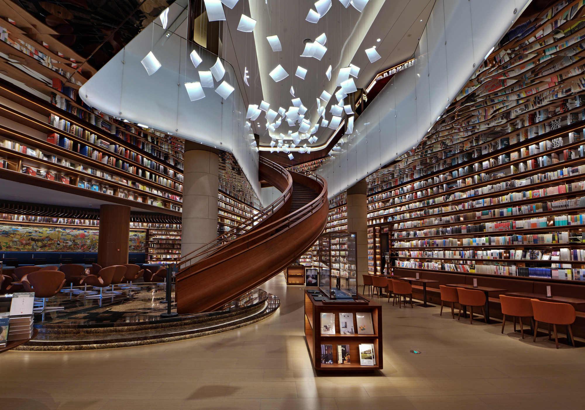 Xi An Maike Center S Bookstore Ikegai Amp Bros Archdaily