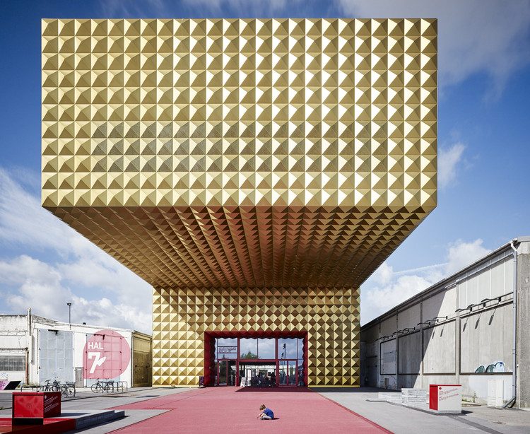 18 Spectacular Photographs Recognized at the AIA Los Angeles Photography Awards, Michael Moser / Ragnarock - Museum of Pop, Rock & Youth Culture Roskilde, Denmark. Image © via American Institute of Architects