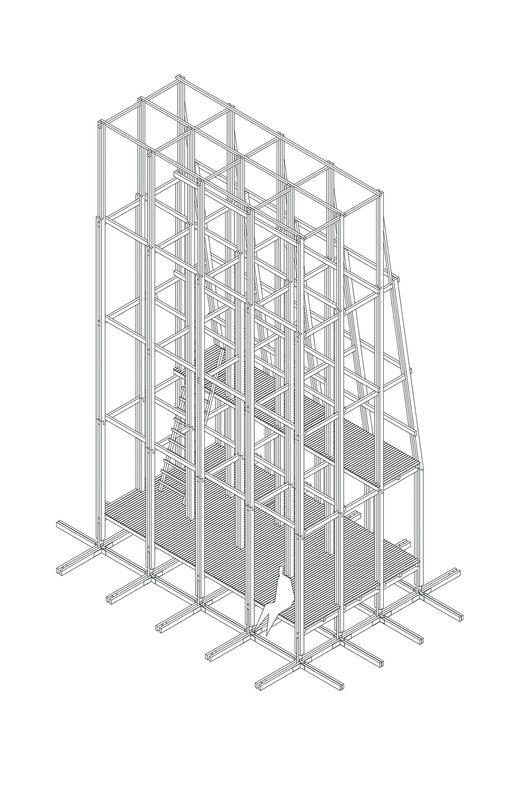 Axonométrica Estructural