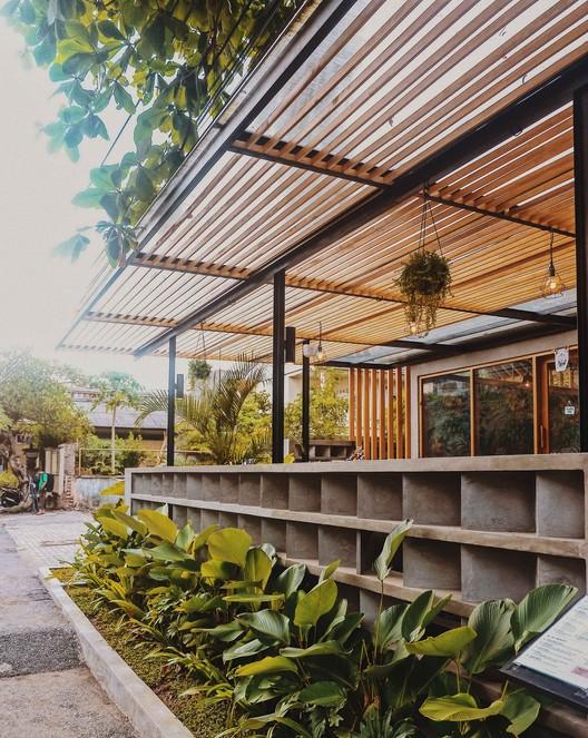 Canvas Café Bali / Studio Tropis, © Studio Tropis