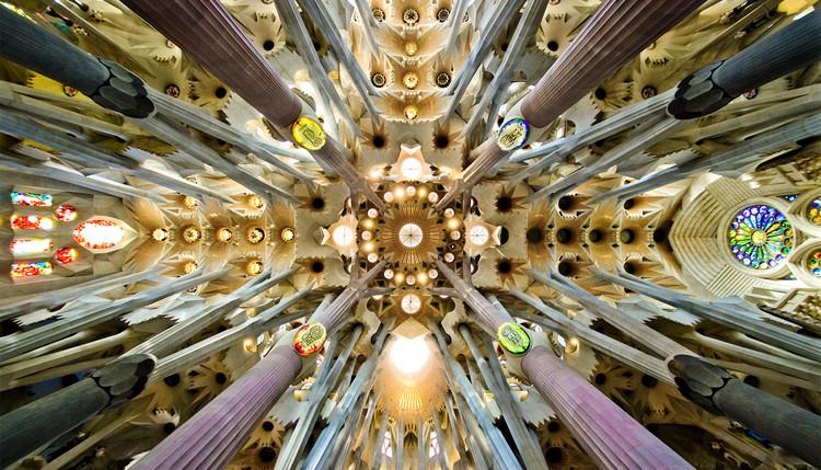 ¿Qué es la belleza en la arquitectura hoy en día, y por qué le tenemos miedo?, Sagrada Familia, Antoni Gaudi. ImageImage via Wikimedia
