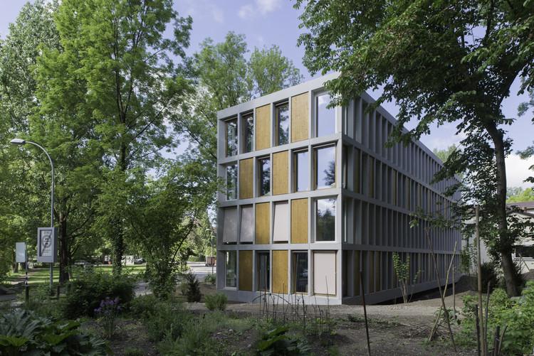 Hostel da Juventude de Bern  / Aebi & Vincent Architects, © Adrian Scheidegger