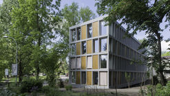 Youth Hostel Bern / Aebi & Vincent Architects