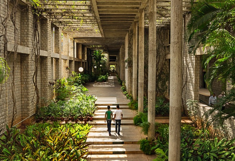 Vitra Design Museum Explores the Work of Balkrishna Doshi, Indian Institute of Management, Bangalore, photo by Vinay Panjwani. Image Courtesy of Vitra Design Museum